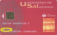 Carne Universitario Polivalente. Universidad de Salamanca